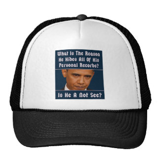 What Is The Reason For Hiding All His Records? Hats