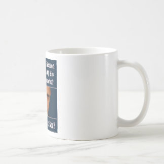 What Is The Reason For Hiding All His Records? Classic White Coffee Mug