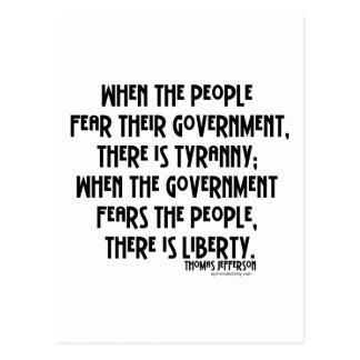 What is Tyranny...? Postcard