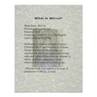 What is Wicca Poster
