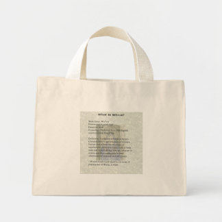 What is Wicca Tiny Tote