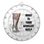 What Is Your Achilles' Heel? (Heel Anatomy) Dart Board