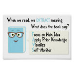 What is your book saying? poster