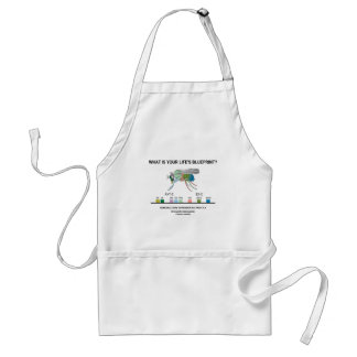 What Is Your Life's Blueprint? (Gene Expression) Adult Apron