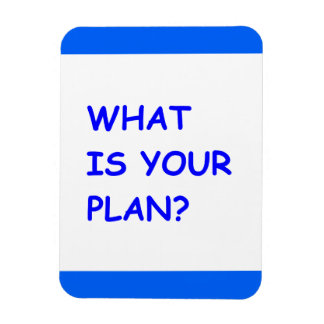 WHAT IS YOUR PLAN MOTIVATIONAL QUESTIONS COMMENTS MAGNET