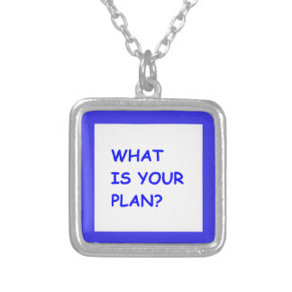 WHAT IS YOUR PLAN MOTIVATIONAL QUESTIONS COMMENTS PENDANT