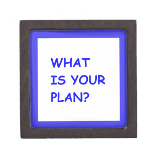WHAT IS YOUR PLAN MOTIVATIONAL QUESTIONS COMMENTS PREMIUM GIFT BOXES