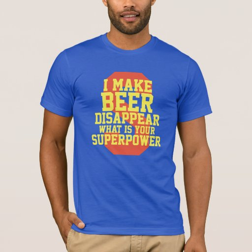 What Is Your Superpower Funny Cartoon T-Shirt