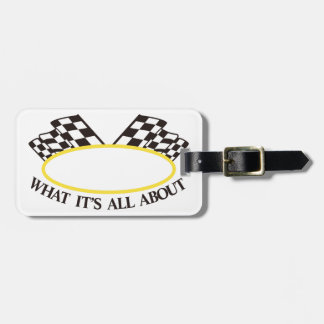 What its All About Luggage Tag