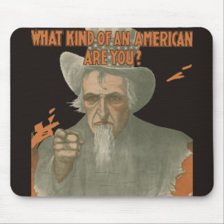 What Kind Of An American Are You? Mouse Pad