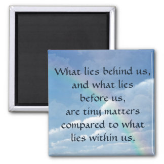 What Lies Behind Us Magnet