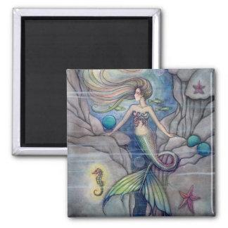 What Lies Beneath Mermaid Magnet