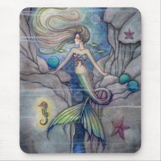 What Lies Beneath Mermaid Mousepad