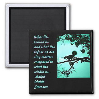 What Lies Within 2 Inch Square Magnet