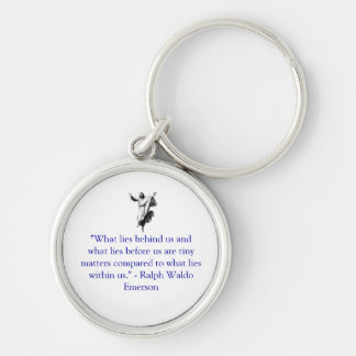 What lies within us keychain