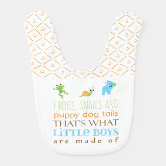 What little boys are made of | Bib
