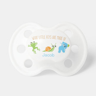 What little boys are made of | Pacifier BooginHead Pacifier