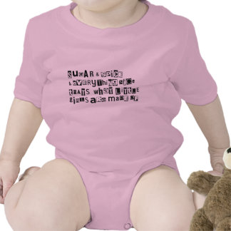 What little girls are made of tshirt