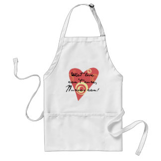 What Love Can't Cure, Nurses Can! Adult Apron