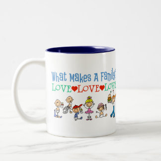 What Makes A Family Gay Gift Two-Tone Coffee Mug