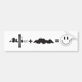 What makes me happy car bumper sticker