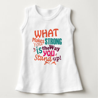 What makes you strong, baby T-Shirt