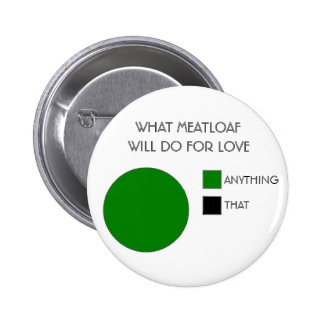 WHAT MEATLOAF WILL DO FOR LOVE PINBACK BUTTON