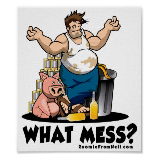 What Mess?  Poster
