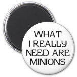What Minions 2 Inch Round Magnet