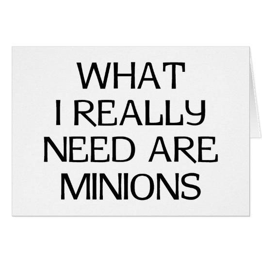 What Minions Card