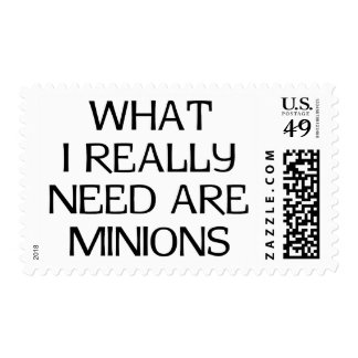 What Minions Postage Stamp