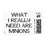 What Minions Postage Stamps