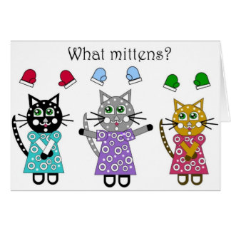 What Mittens Card