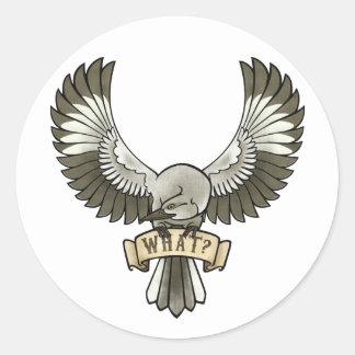 'What' Mockingbird Sticker