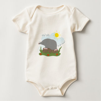 What mole do you want? baby bodysuit