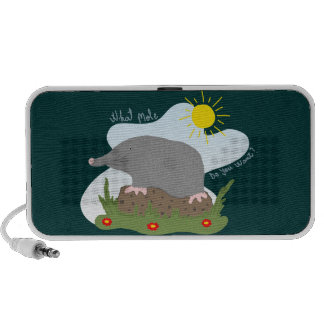 What mole do you want? iPhone speaker