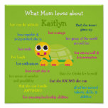 What Mom Loves About Personalized Poster