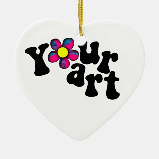 What moves YOUR heart? Ceramic Ornament
