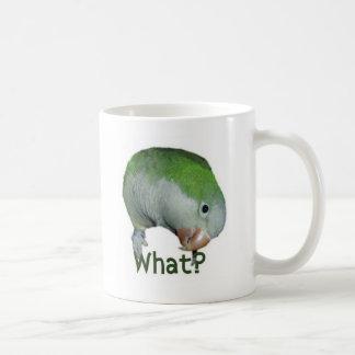 What? Classic White Coffee Mug
