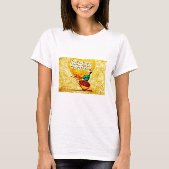 What my #Coffee says to me - CAFFEINE_RAGE_NOV_19 T-Shirt