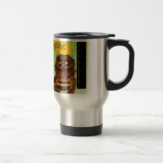 What my #Coffee says to me - Owl Mug Shot