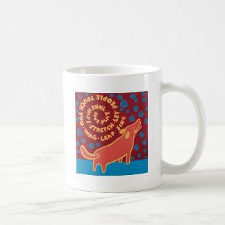 What my dog taught me coffee mug