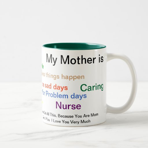 """What my Mother was to Me"" Coffee Mugs"