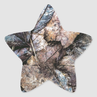 What Nature Has Left Star Sticker