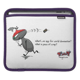 What, no world domination app? iPad sleeve