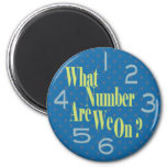 what number are we on blue with numbers magnets
