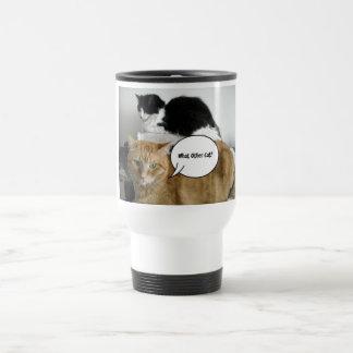 What Other Cat?/Orange Tabby Humor Travel Mug