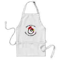 What part of Cluck... Adult Apron