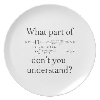 What Part of...? Dinner Plate
