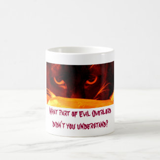 What part of Evil Overlord didn t you understand Mug